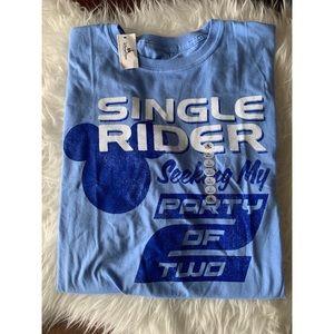 New! Walt Disney World Mickey Blue Adult T-Shirt
